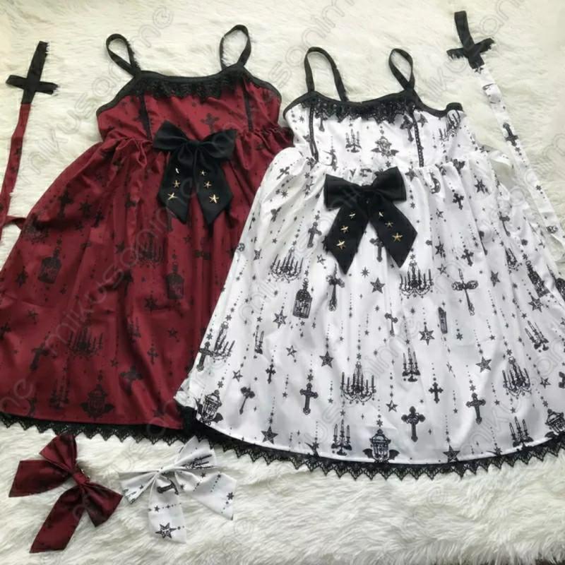 Kawaii Vestido Vintage Moda Gótico Lolita CodxeWQrB