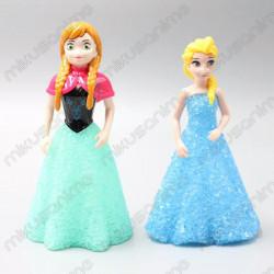 Lote figuras Frozen Elsa y...