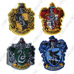Escudo parches Harry Potter