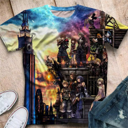 Camiseta Kingdom Hearts