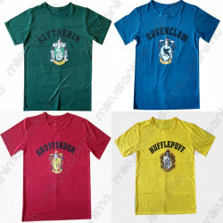Camisetas Casas Harry Potter