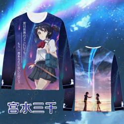 Sudadera Mitsuha Your Name...