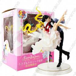 Figura Sailor Moon y Chiba...