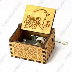 Caja Musical La Bella y la...