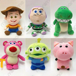 Lote 6 peluches Toy Story