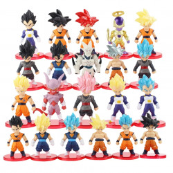 Set 21 figuras Dragon Ball