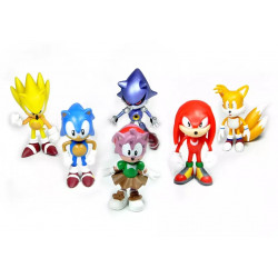 Set 6 figuras Sonic -Sonic...