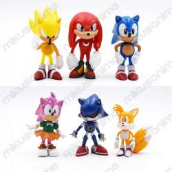 Lote 6 figuras Sonic the...