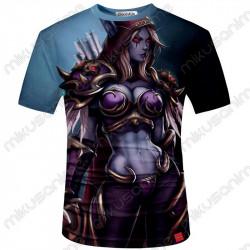 Camiseta Sylvanas S-5XL -...