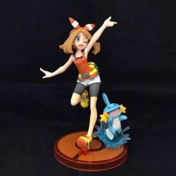 Figura Haruka y Mudkip Pokémon