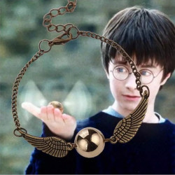 Pulsera Harry Potter Snitch