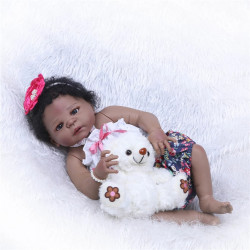 Bebé Reborn mulata modelo 19