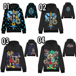 Sudadera Kingdom Hearts 3D