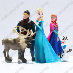Set 5 muñecos Frozen 2