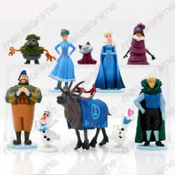 Set 10 muñecos Frozen 2