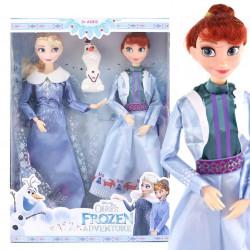 Set 2 muñecas Elsa Anna -...