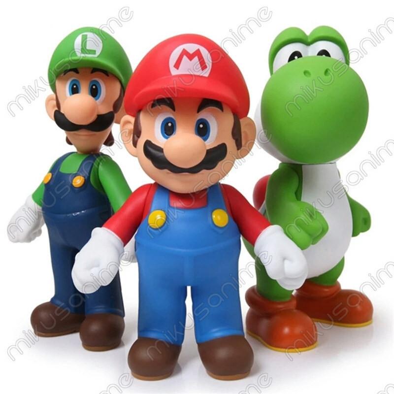 Pack Y Yoshi Mario Super Figuras 3 MarioLuigi pjqzVLSUMG