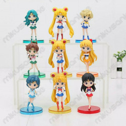 Lote 9 figuras Sailor Moon