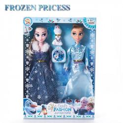 Set muñecas Anna Elsa -...