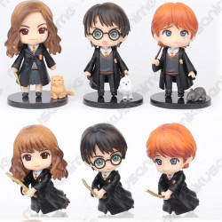 Set 6 figuras Harry Potter...