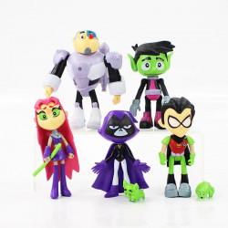 Set muñecos Teen Titans go