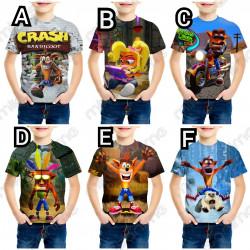Camiseta Crash Bandicoot...