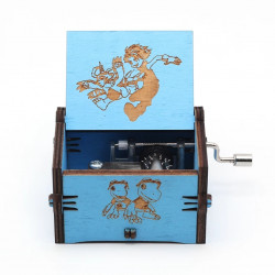 Caja de música Digimon
