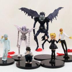 Set 6 figuras Death Note