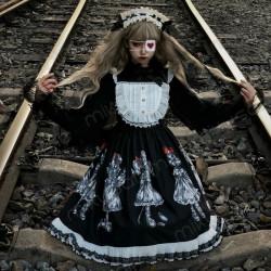 Vestido Lolita gótico