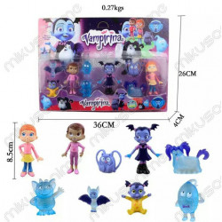 Set 9 muñecos de Vampirina