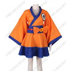 Kimono Cosplay Dragon Ball...