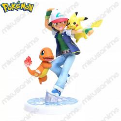 Figura Ash, Pikachu y...