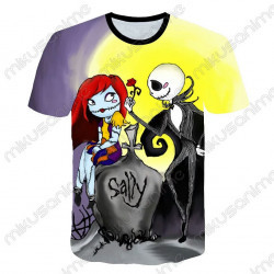 Camiseta Jack y Sally...